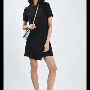 Topshop navy dress size 0.
